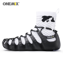 ONEMIX Men Warm Roma Gladiator Boots No Glue Sports Outdoor