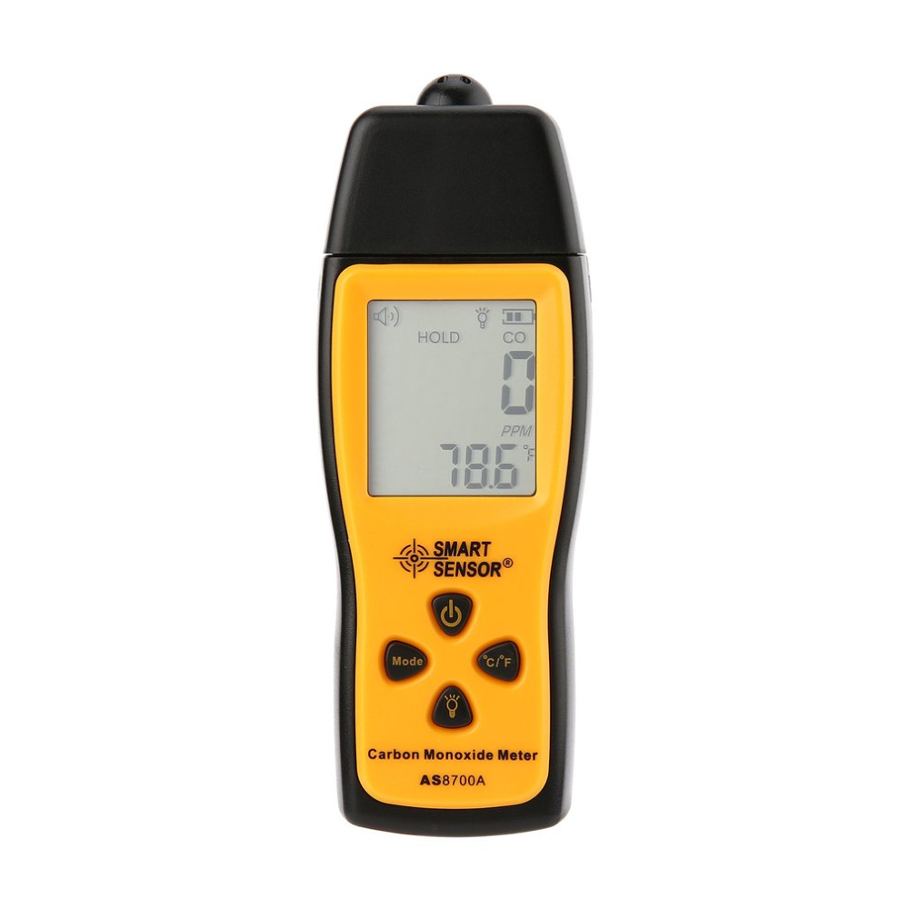 Handheld Carbon Monoxide Meter Portable CO Gas leak Detector Gas Analyzer High Precision Detector Gas Monitor Tester 1000ppm