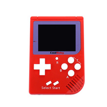 Handheld Game Player Built-in 129 Classic Games 8 bit 2.0 inch LCD Color Mini Game Console RS-6 Retro For Boy Hand Held Games цена и фото