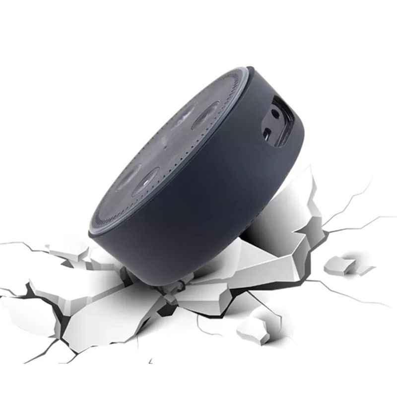 Chống Sốc Ốp Lưng Silicon Bảo Vệ Giá Đỡ Đứng Cho Amazon Echo Dot 2 2nd Thế Hệ