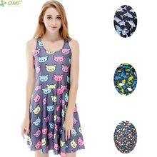 f5d21e89db Buy shark print dress and get free shipping on AliExpress.com