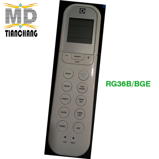 US $10 99  RG36B/BGE Original Air Conditioner Remote Control For Midea For  Electrolux-in Remote Controls from Consumer Electronics on Aliexpress com  