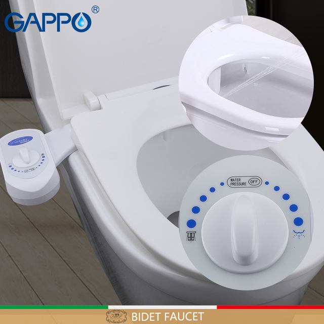 GAPPO Bidet Faucets shower bidet toilet cover bathroom muslim shower bidet cover toilet sprayer ABS spray tapa wc        nozzle