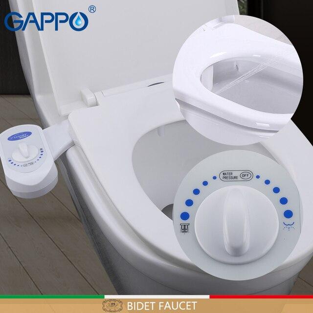 GAPPO bidé grifos ducha inodoro, bidé baño cubierta de musulmanes ducha Bidet cubierta de baño del rociador ABS spray tapa wc boquilla
