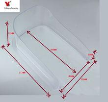 Freeship Yobang bezpieczeństwa domofon willa hosta dzwonek urządzenia do kontroli dostępu wodoodporna pokrywa osłona przeciwdeszczowa uniwersalny typ U30 tanie tanio 178mm*215mm Zasilanie