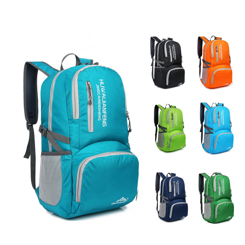 brand high quality Durable Waterproof Folding Packable Lightweight Outdoor  Travel Hiking Backpack Daypack Portable comfortable-in Climbing Bags from  Sports ... 762b0635c9268