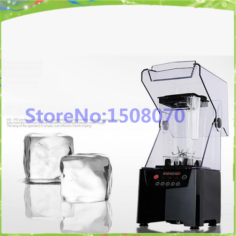 Free shipping Ice machine commercial small ice maker smoothie machine multifunctional juicer mixer machine for sale