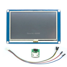 "DIYmall İngilizce Sürüm Nextion 5.0 ""HMI Akıllı Nextion LCD Modül Ekran Arduino için TFT Ahududu Pi ESP8266"