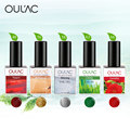 Easy Soak off UV Gel Oulac High Quality Nail Gel Polish 5PCS