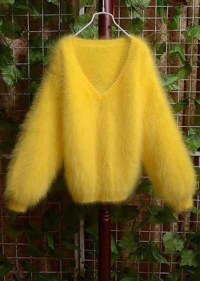 S4New de visón de Cachemira suéter envío gratis S42