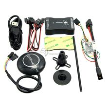 New Mini APM PRO Flight Control with Ulbox Neo-M8N GPS & Power Module & Data Cable for FPV Drone Multicopter