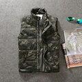 El otoño y el invierno de camuflaje capa sin mangas de algodón grueso chaleco de algodón y los hombres de la marca