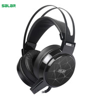 SALAR C13 Wired Gaming Headphone Headset Bass Omnidirectional 3D Noise Reduction LED Headphone With Mic For