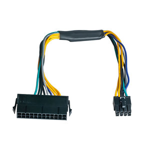 Image 4 - 24 Pin zu 8 Pin ATX Netzteil Adapter Kabel Kompatibel mit DELL Optiplex 3020 7020 9020 Präzision T1700 12  zoll (30 cm)
