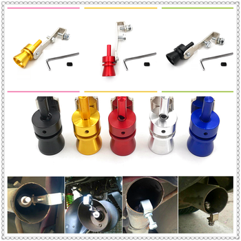 Car SUV Turbo Sound Exhaust Muffler Pipe Whistle Simulator for BMW all series 1 2 3 4 5 6 7 X E F-series E46 E90 F09 image