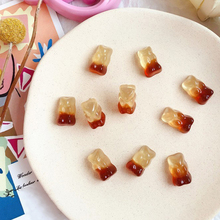 Boxi In Stock Bear Charms Supplies Additives For Slime Resin Cute Kawaii Accessories