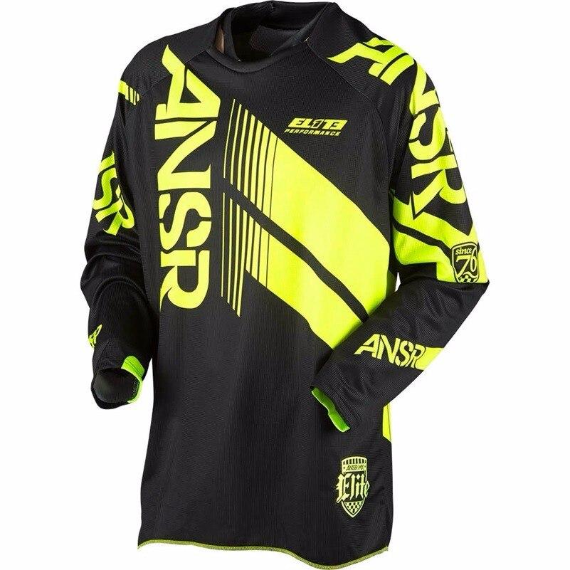 Prix pour Livraison gratuite Nouveau 2017 RÉPONSE Motocross racing chemise pour hommes jouer Passionnant équitation vélo vélo Jersey Vtt descente DH