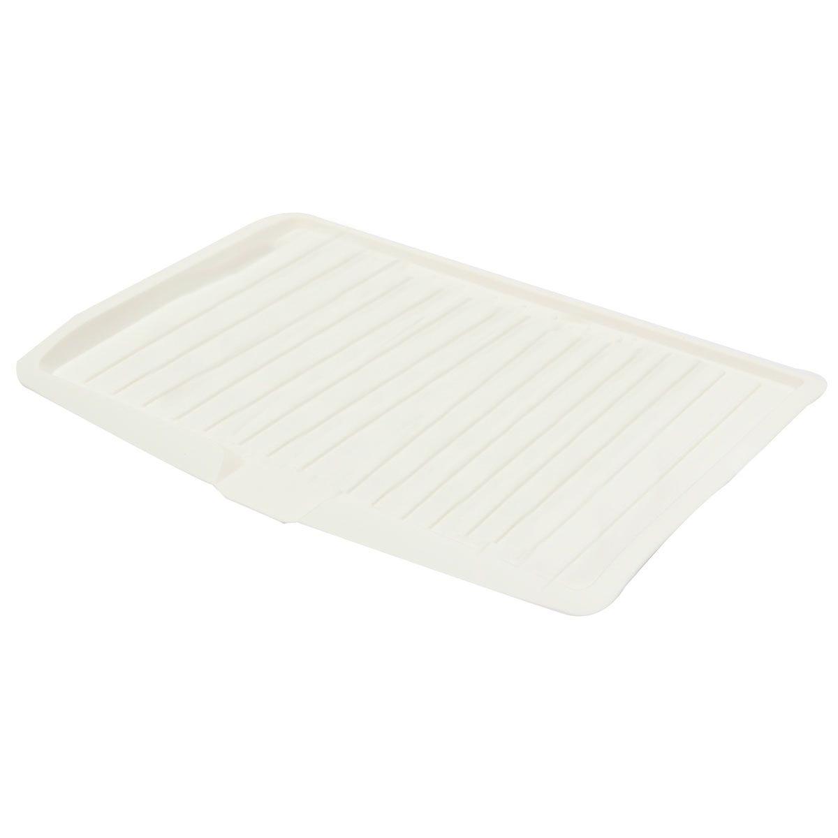 Plastic dish drainer drip tray plate cutlery rack kitchen - Escurreplatos plastico ...