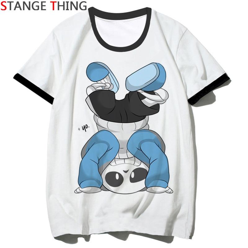 New Undertale Print Casual T Shirt For Men/women Funny Cartoon Unisex T-shirt Hip Hop Tshirt Short Sleeve Top Tees Male/female
