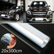 1pc 300CM*20CM Clear Durable Car Auto Protective Film Repair Abrasion Resistance Vinyl Door Edge Paint Protection
