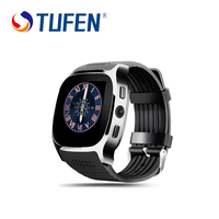 TUFEN Heart Rate Tracker Smart Watch T8 M Bluetooth 4 0 Camera 2 0MP With Passometer