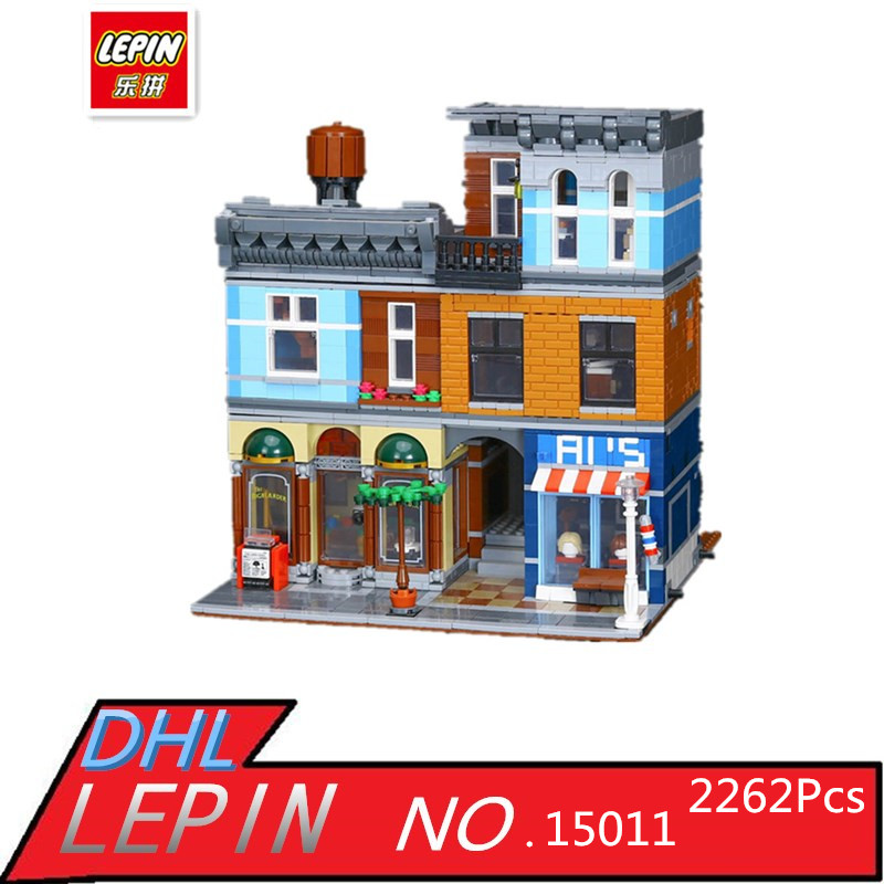 Фотография IN STOCK LEPIN 15011 2262Pcs City Street Detective