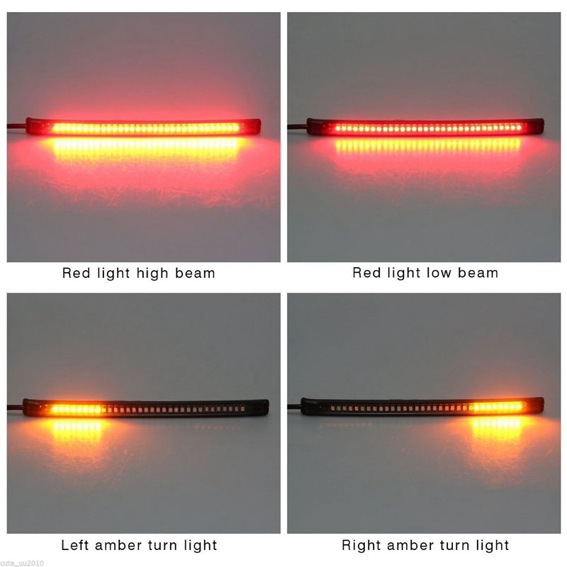 LED Motorcycle Light Flexible 32 LED Motorcycle Taillights
