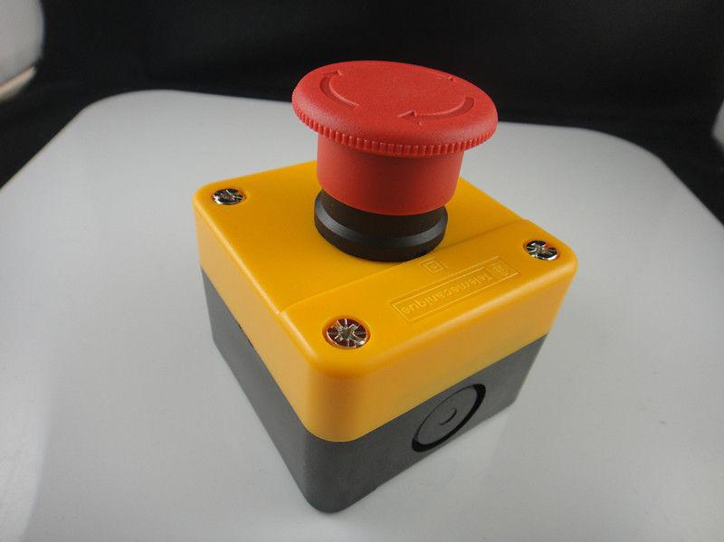 3 Pçs/lote Toque À Prova D Água para Repor a Estação De Parada de Emergência Botão Switch 600 V 10A