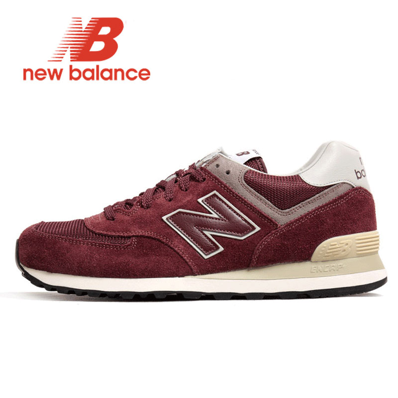 NEW BALANCE Shoe Retro Running Shoes Women NB 574 zapatos de mujer Sneakers Men light comfortable Sports Shoes ML574VB