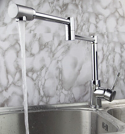 new arrival high quality brass material chrome single lever hot and cold foldable kitchen sink faucet mixer new arrival top high quality chrome brass single lever single cold kitchen sink faucet direct drinking tap