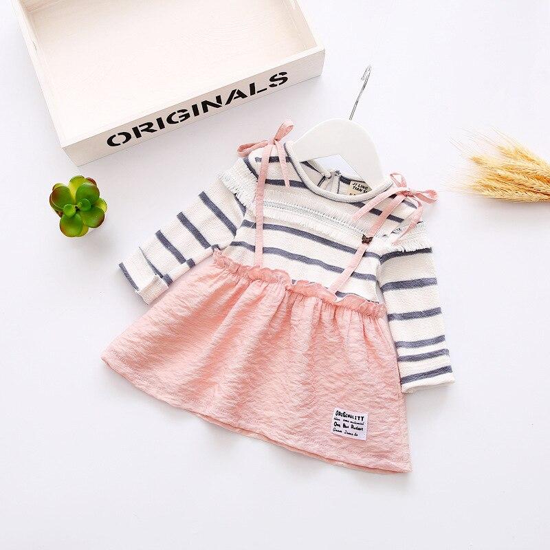 Fake Pcs Spring Baby Girls Clothes Kids Cute Neck