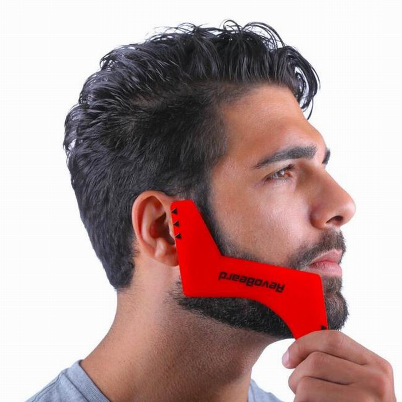 Good Quality Z Shape Beard Shaper Whiskers Sidebums Comb