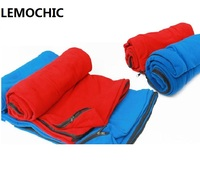 Spring Camping Portable Emergency Compact Fleece Liner Sleep Bag Outdoor Travel Summer Ultralight Envelope Style Sleeping