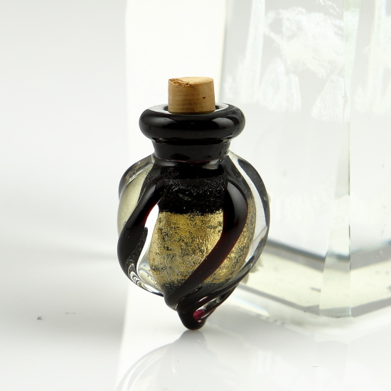 Vial Necklace For Ashes: Glass Vial Pendant For Necklaceash Holder Jewelry For
