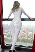 Smooth Fiber 2 Zipper Long Sleeve Jumpsuit