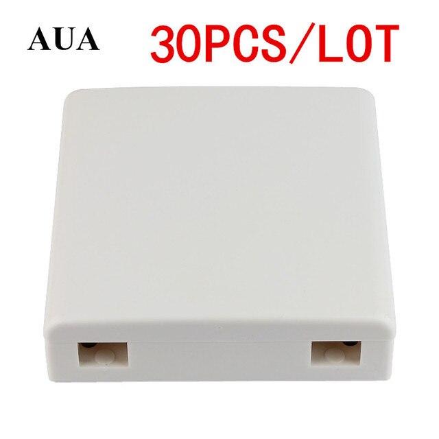 30 pz/lotto pannello in fibra FTTH FTTH fibra ottica terminal scatola di giunzione 86 informazioni pannelli 86 Scatola Desktop