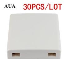 30 unidades/lotes ftth fibra ftth painel de fibra óptica terminal caixa de junção 86 painéis de informação 86 caixa de desktop