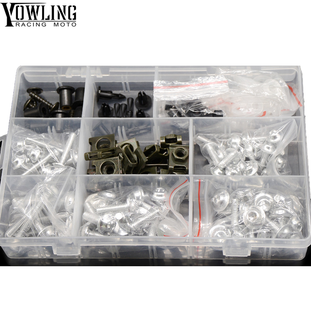 Motorcycle Accessories Fairing Windshield Body Work Bolts Nuts Honda Motorcycles Screws For Cbr954rr Nc700 Nc750 S X Pcx125 St 1300 A In Covers Ornamental Mouldings