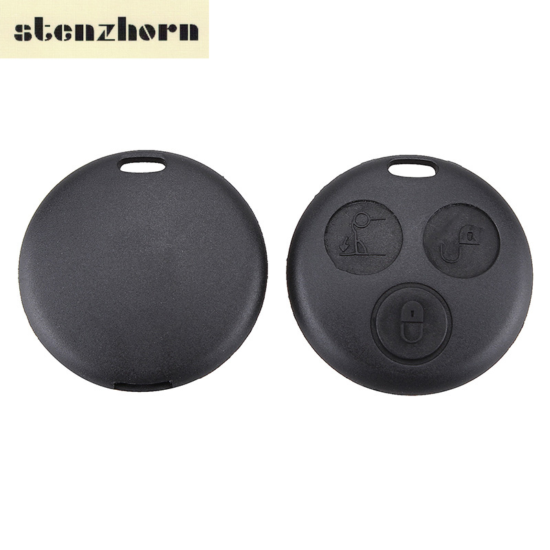 Stenzhorn 3Button Car Key Cover Remote Key Shell For Smart Fortwo For Mercedes Benz Key Chain Case For Car Alarm Free Shipping