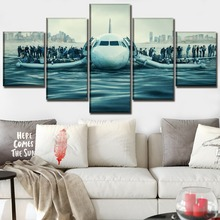 Canvas Painting Modular Poster 5 Pieces Sully Movies Wall Art Home Decorative Living Room Print Pictures Artwork