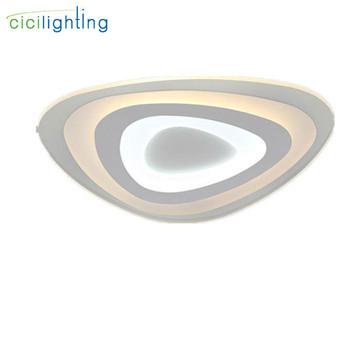 Geometry Ultra-thin Surface Mounted Modern Led Ceiling Lights lamparas de techo acrylic Ceiling lamp led lighting fixtures