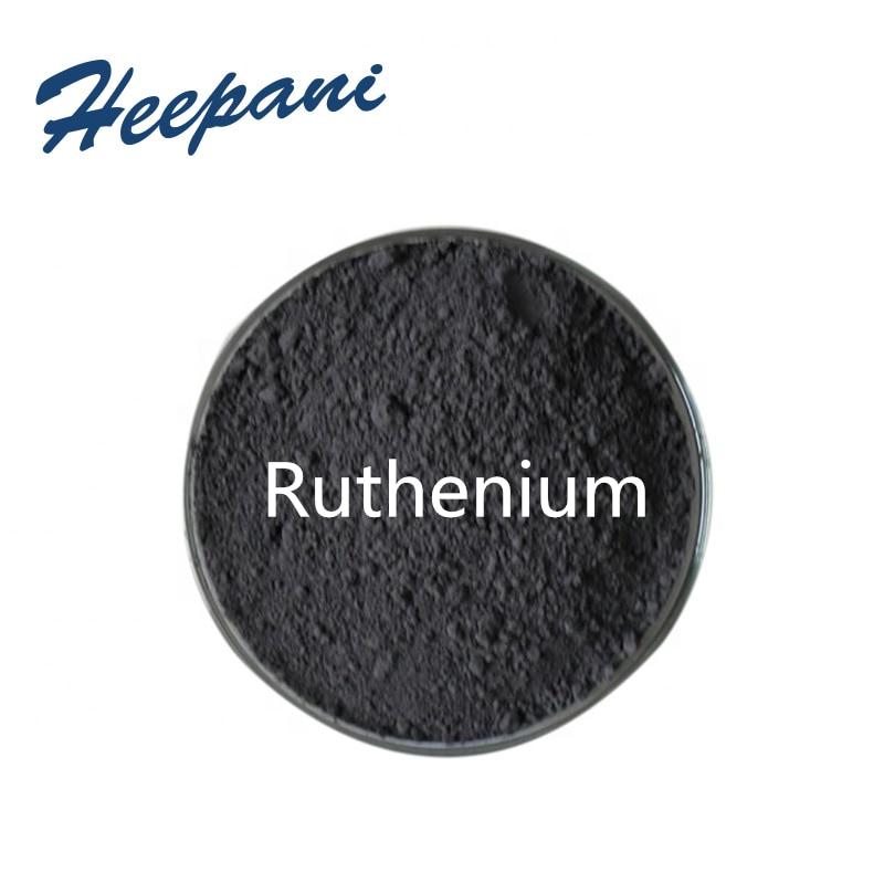 Free Shipping High Purity Ruthenium Powder Ru  Rare Metal For Catalyst