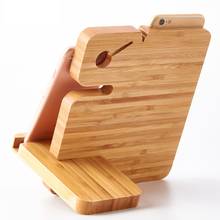 Multi Devices Wood Charging Station