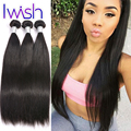 New Batch Good Peruvian Hair Straight Weave 3 Bundles Lot Human Hair Extensions Peruvian Straight Hair Virgin Hair Bundle Deals