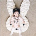 rabbit baby blanket wikkeldeken baby newborn photography props muslin swaddle saco dormir Home decoration aden anais kids Gifts