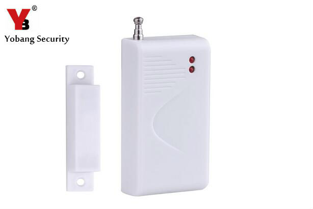 YobangSecurity Home Security Door Window Sensor Alarm Wireless 433mhz Door Detector for gsm home burglar security system safurance lcd wireless gsm home burglar alarm system motion door window sensor home security safety