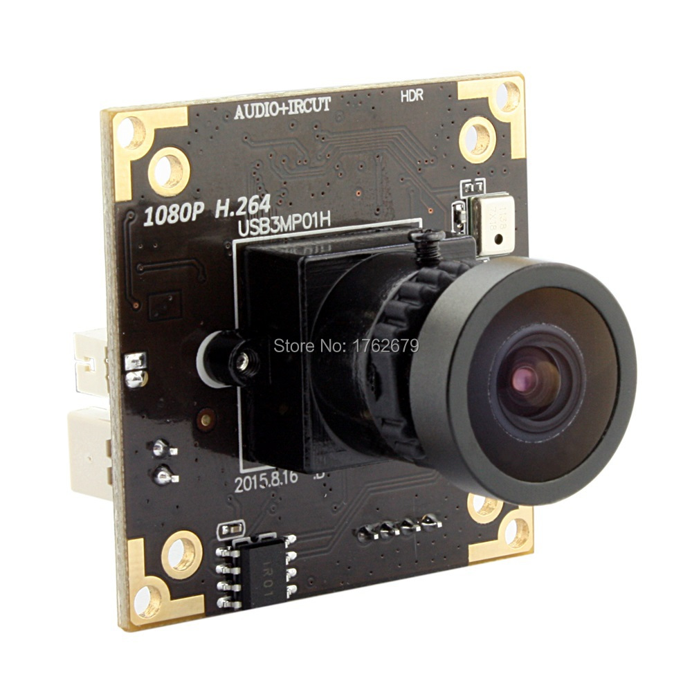 все цены на 3MP 2048X1536@ MJPEG 15fps / 2MP 1920*1080@H264 30fps Wide Dynamic Range WDR CCTV USB Camera module with 2.9mm lens