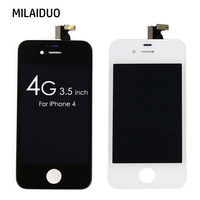 100 Brand New AAA Quality LCD For IPhone 4 Display Digitizer Touch Screen Mobile Phone Parts
