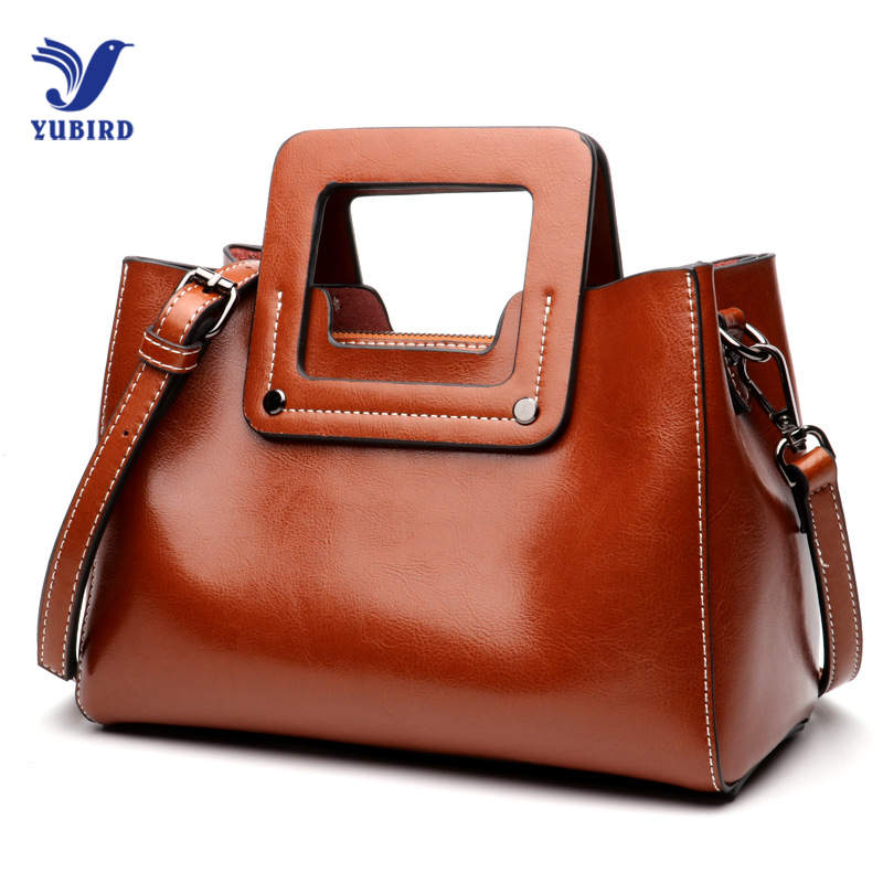 YUBIRD Women Messenger Bag Shoulder Crossbody Bag Ladies Genuine Leather Bags Handbags Women Famous Brand Luxury Designer Tote new fashion women messenger bags famous brand casual tote bag women handbags genuine leather luxury designer shoulder bag bolsas