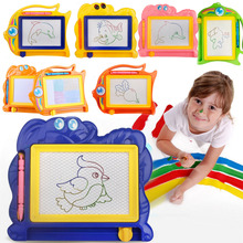 Subcluster 2 Pcs/Set Magnetic Drawing Board Sketch Pad Doodle Writing Craft Art for Children Kids